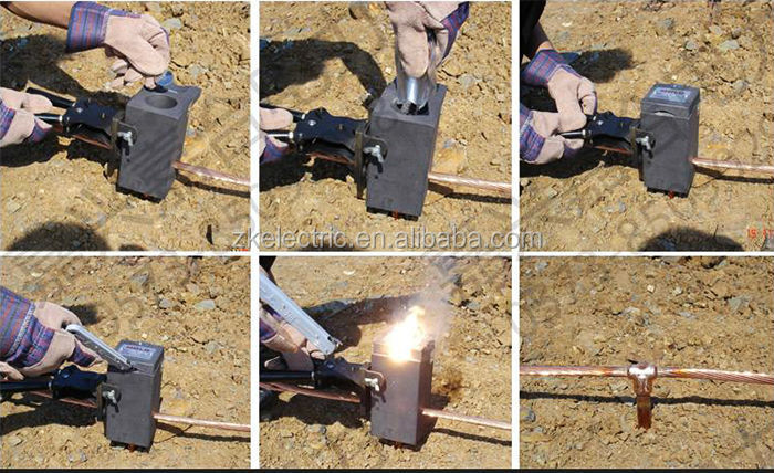 Exothermic Welding Power For Earthing Material Connection