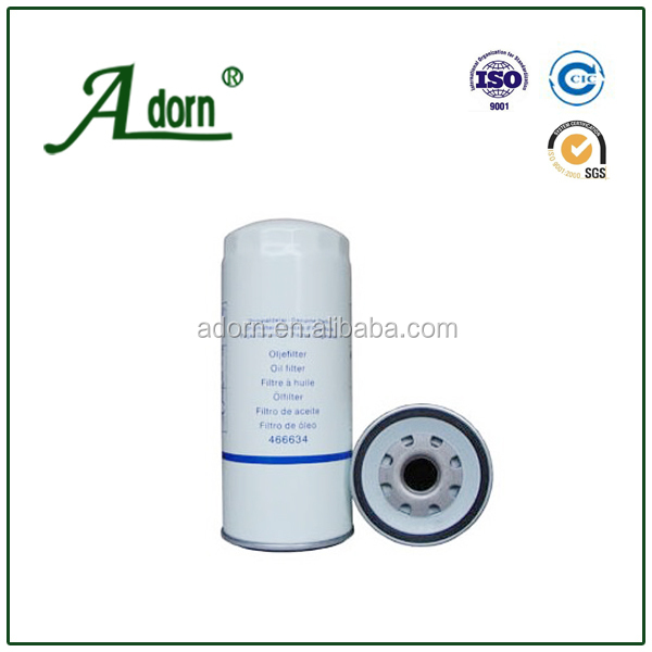 OEM NO 466634 Truck Bus Oil Filter for VOLVO TRUCK FL10