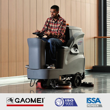 GM110BT70 Auto Ride-on Floor Tile Cleaning Machine With Dual Brush