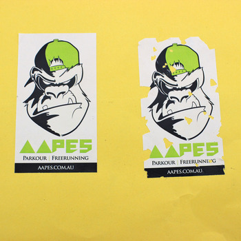Stronger adhesive printable custom individual eggshell stickers,Supply hot sale cheap easy destructible permanent vinyl sticker