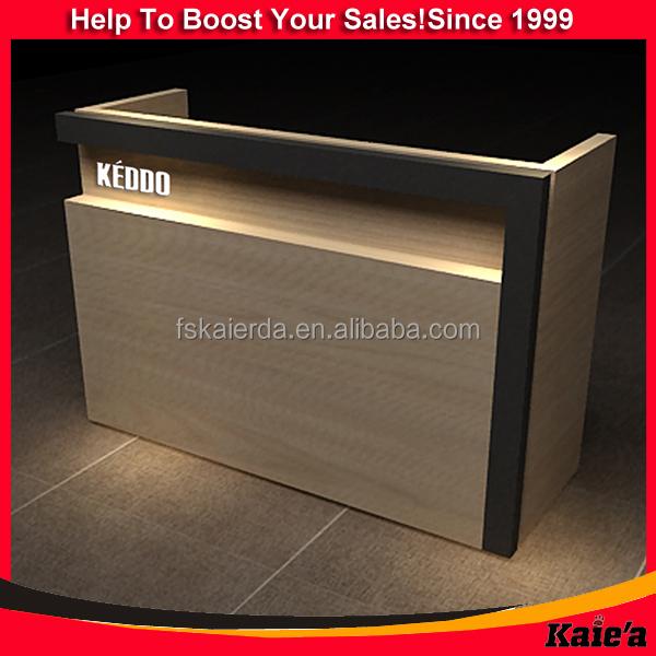 Wholesale Modern Shop Counter Design For Garment Store