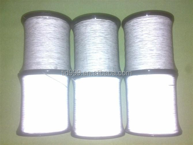 Reflective thread sewing in high quality reflective tapes for workwear protective clothing, appeal and accessories