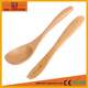 Factory wholesale 2017 wood spoon& fork set for children