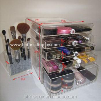 Wholesale Acrylic Makeup Organizer With Drawers - Buy Acrylic Makeup Organizer,Acrylic Makeup ...