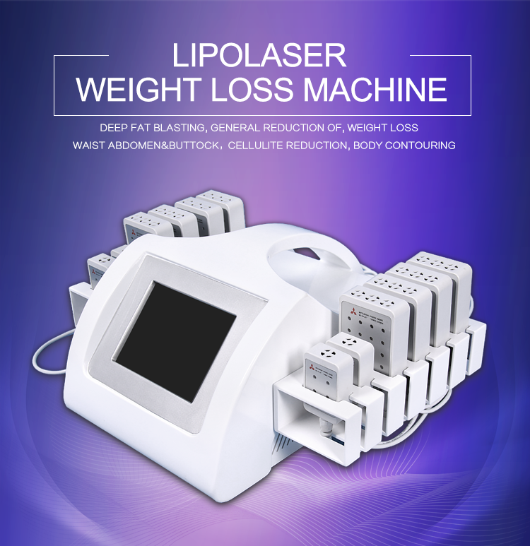 Beir lipolaser 650nm&980nm lipo laser slimming machine/lipo melting laser liposuction weight loss beauty equipment for saleBR216