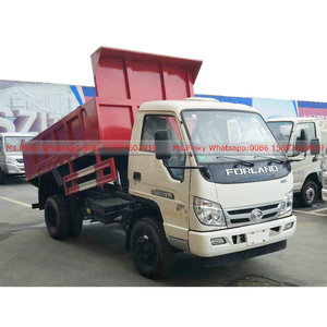 Foton Forland Light Duty Small Mini Dump Truck 2T 3T 4Tons 5Tons Loading for Sales Call/Whatsapp 0086 15897603919