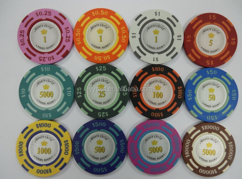 customize high quality casino poker chips