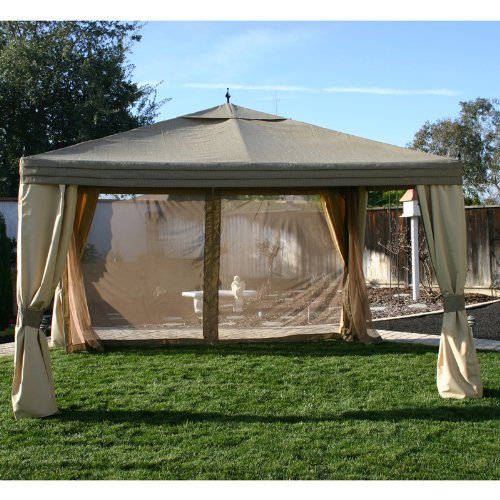 Get Quotations · 10 x 12 Arrow Gazebo Replacement Canopy and Netting & Cheap Gazebo Canopy Replacement Covers 10x12 find Gazebo Canopy ...