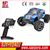 WLtoys 12402 RC Electric Monster Cars 1:12 Scale 2.4G 4WD 2CH RC Cars High Speed 45km/h Climbing Car Vehicle SJY-12402