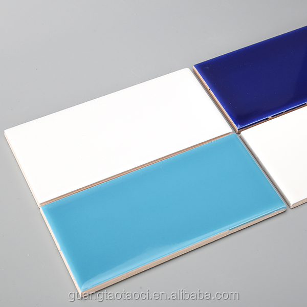 Beautiful Colors Kichen And Bath Wall Decorative 100x200 Glass Subway Tile