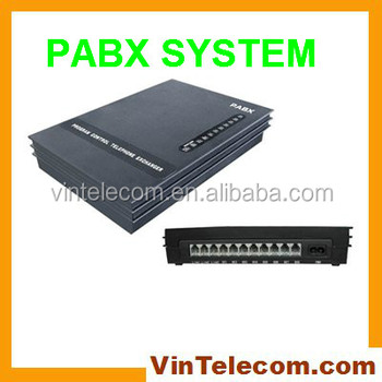Central Phone Pabx Sv308 With 3 Co. External Lines + 8 Ext.