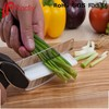 As Seen On TV Clever Cutter 2 in 1 Food Chopper Replace your Kitchen Knife and Cutting Boards