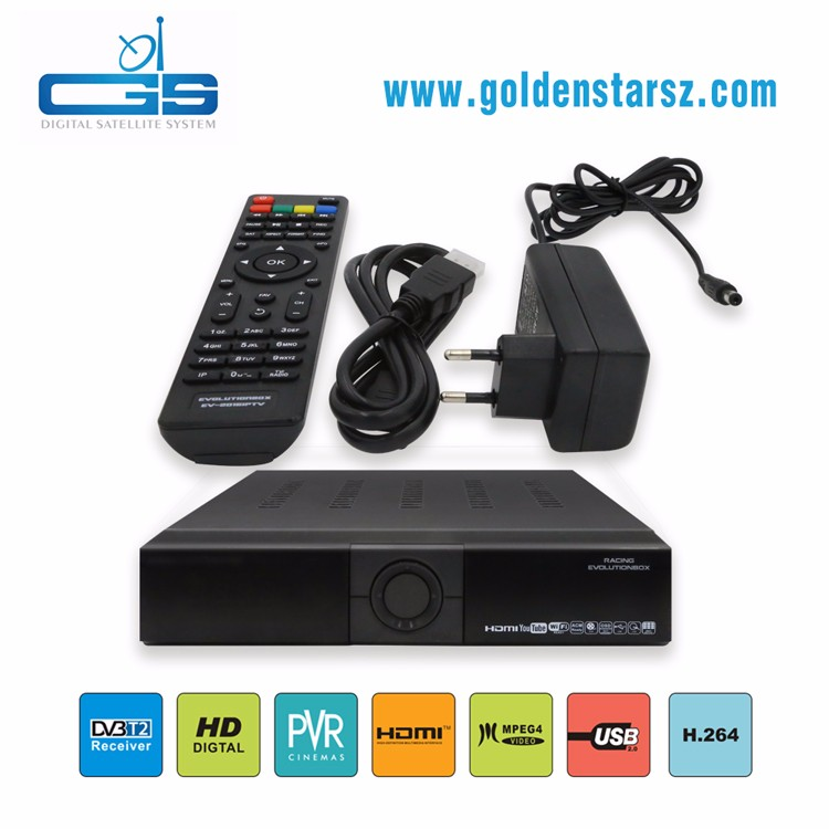 Most popular twin tuner hd iptv receiver with iks sks tv receiver support youtube and IPTV by network