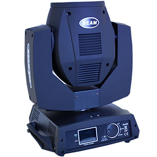 rotating 16 facet prism 5r 200w DMX512 Moving Head Light rain cover