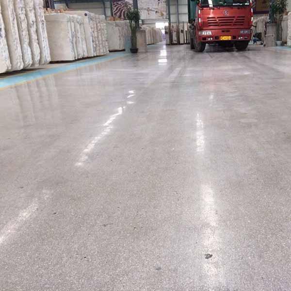 Building construction concrete floor polishing machine for Caring for polished concrete floors