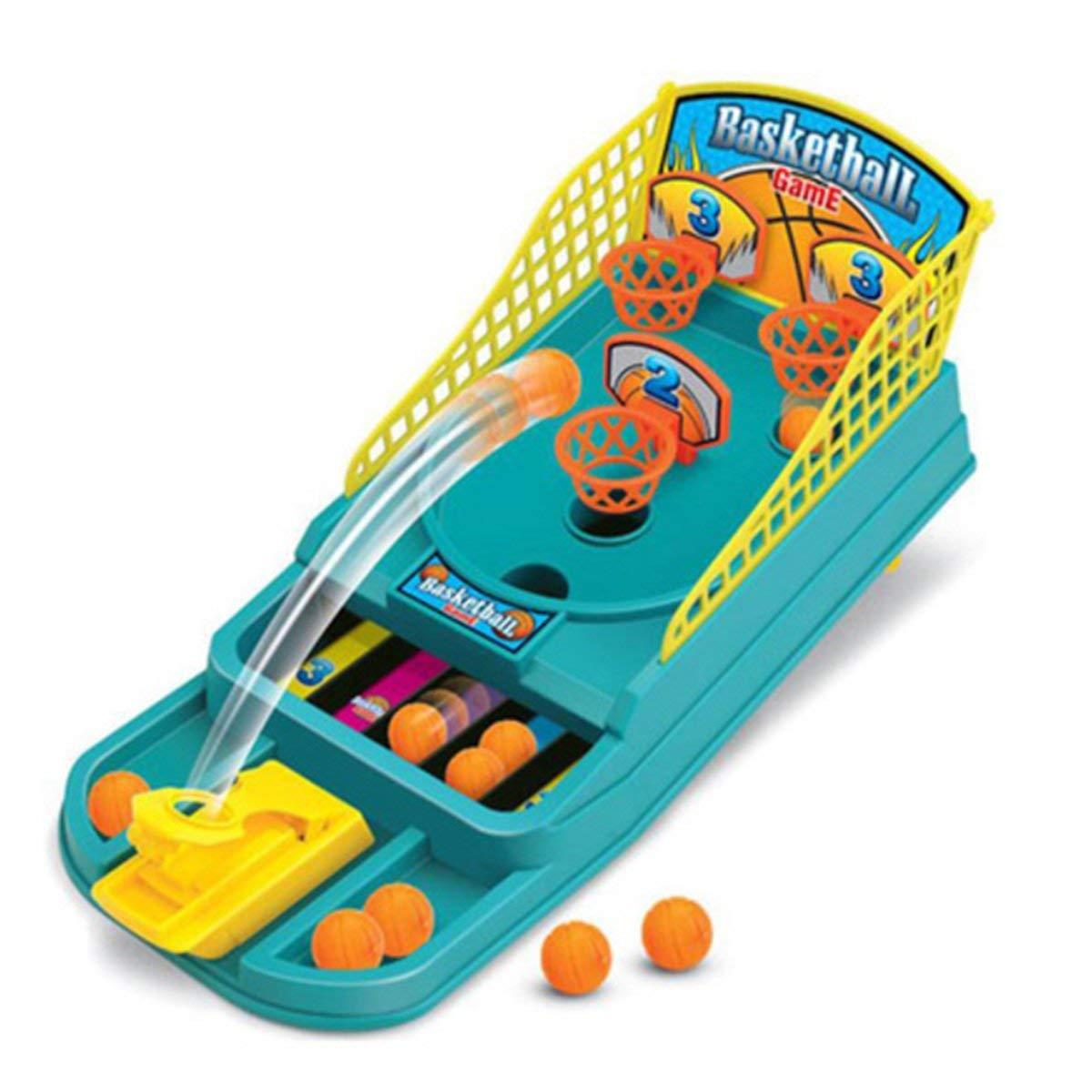 Basketball Shooting Game For Kids, Desktop Table Basketball Games Classic Arcade Games Basketball Hoop Set, Fun Sports Toy