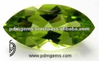 Peridot Marquise Shape Calibrated Gemstones, Natural Stones, Beads Supplies
