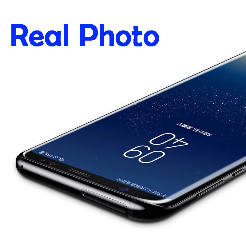 Promotion Liquid Curved UV Tempered Glass Nano For Samsung S8 S9 S10
