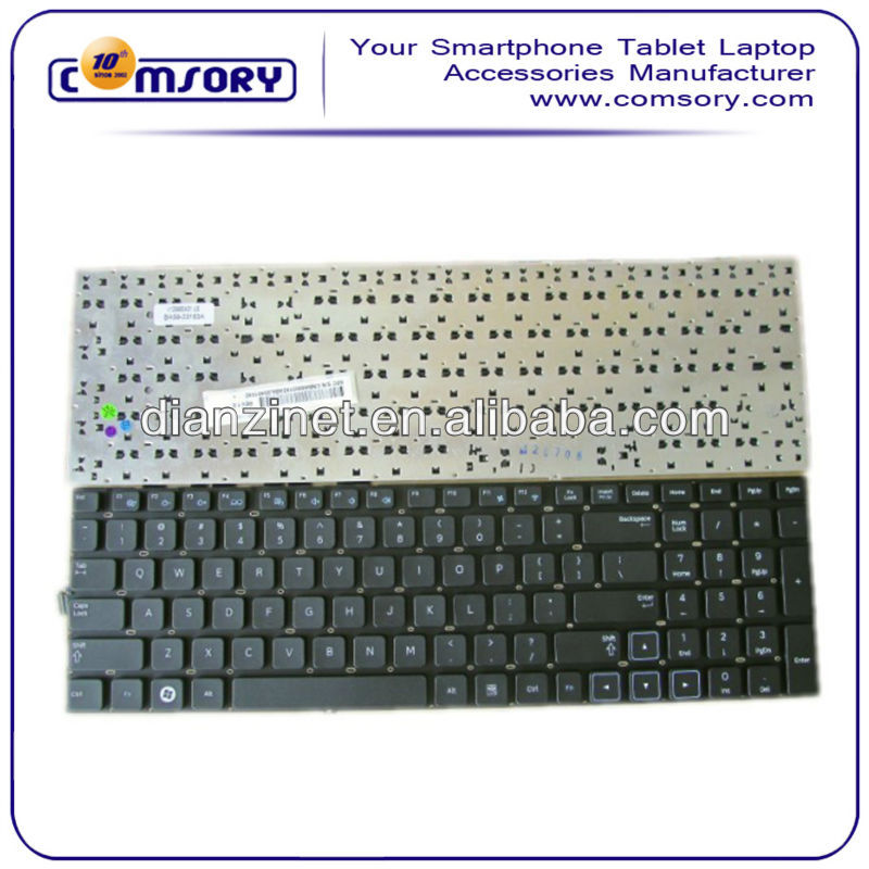 Wholesale Computer Keyboards for Samsung E7A US Layout Keyboards Black color without frame
