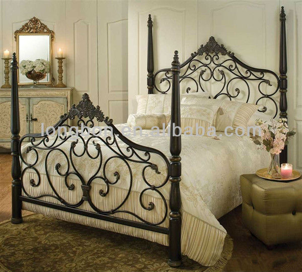 Top-selling Hand-forged Elegant Metal Bed Frame - Buy Elegant Metal Bed  Frame,Used Iron Bed Frames,Modern Metal Bed Frame Product on Alibaba.com