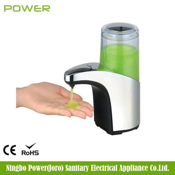 Refillable ABS 300ml fancy wholesale battery sensor hand free liquid lotion automatic soap dispenser