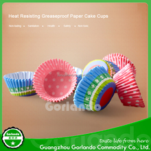 round wrappers paper baking cupcake