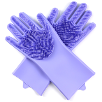 Custom Slip Resistant Heat Proof Silicone Gloves Silicon Kitchen Hand Clip