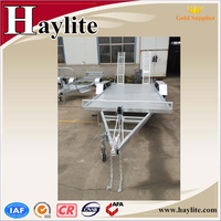 10*6 car towing dolly trailer
