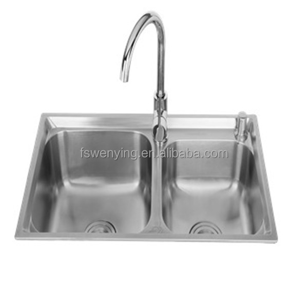 Kitchen Sink Kitchen Combo Fixture Combination ;Stainless Steel / Chrome
