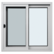 Good quality aluminium windows double glazing vertical sliding window with mosquito screen