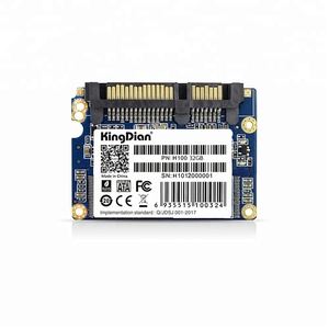 KingDian SSD 1.8 Half-Slim SATA II Speed Upgrade Kit for Desktop PCs and Mac Pro