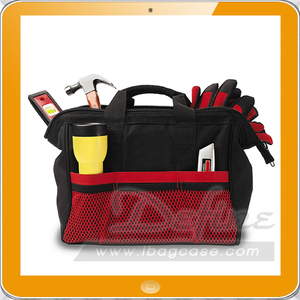 Heavy duty tote reinforced tool bag storage system