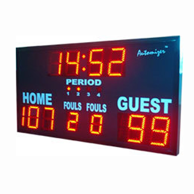 Hot sale digital football scoreboard digital score board