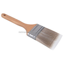 PET filament hair angle paint brush for commercial wall painting