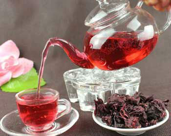 Organic Hibiscus Herbal Tea Loose Leaf Tea Caffeine Free Buy