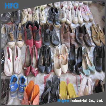 Second Hand Shoes Wholesale Man