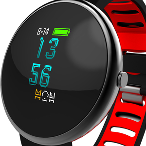 High quality Newest heart rate + blood pressure monitor smart wristband pedometer for iPhone android