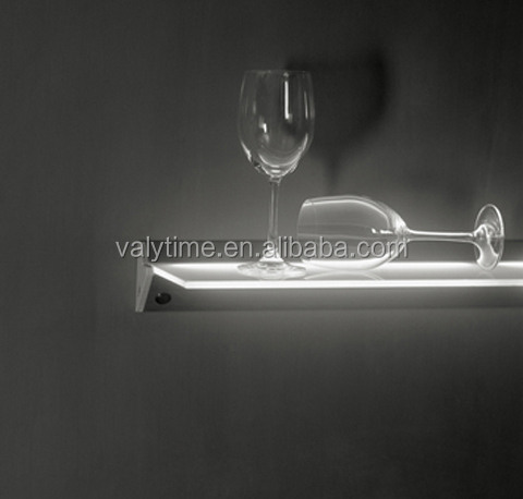 led lampen houten plank geleid kast licht voor winkels