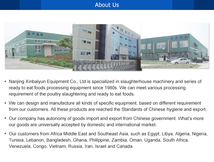 Factory Outlet Chicken Processing Plant Poultry Meat Plucking