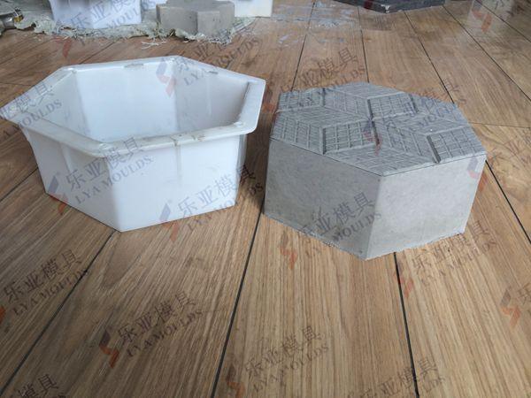 Concrete Paving Plastic Tile Mold Sale