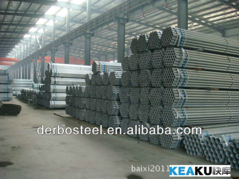 2013 new products astm a53 schedule 40 galvanized steel pipe