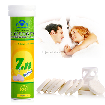 Zinc Gluconate Effervescent Tablets Improve Sperm Quality And Have A