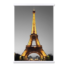 Incorniciato Poster Set Torre Eiffel Nero Stampa Su Tela Pittura di Arte <span class=keywords><strong>Idee</strong></span>