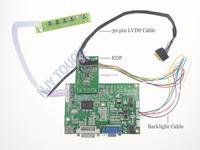 VGA LCD Controller Board for B156HTN03.0 B156HTN03.1 B156HTN03.4 15.6 inch eDP 30 Pins 2 Lanes WLED LCD 1920x1080