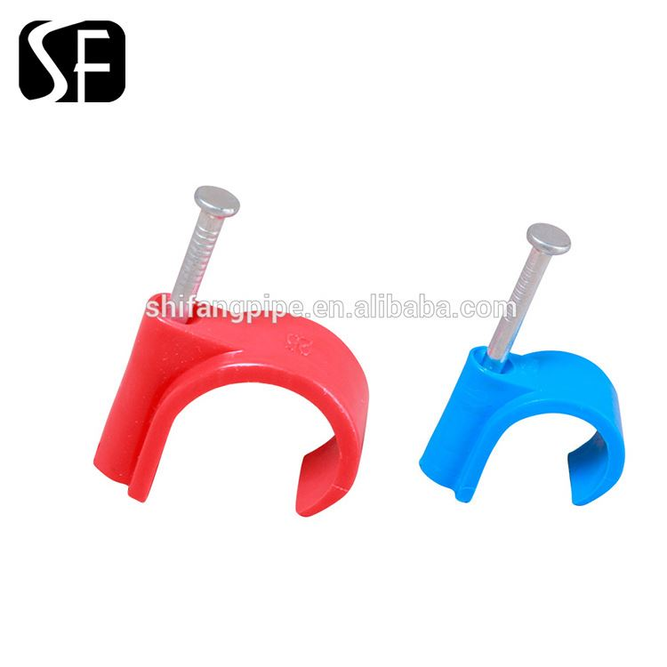 plastic wall nail nylon cable clips
