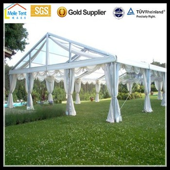 custom made metal frame tentsbig wedding transparent tents for sale