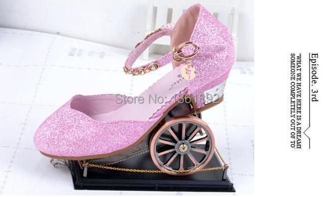 chaussure a talon pour petite fille