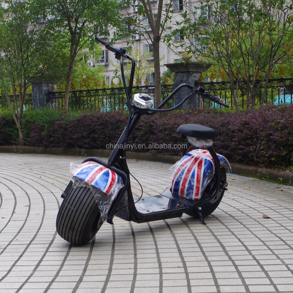 Chinese 1000W 2 Big Fat Tyre Electrical Scooter With Shock