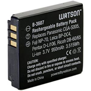 Good Quality Watson CGA-S005 Lithium-Ion Battery Pack (3.7V, 950mAh) (2 Pack)