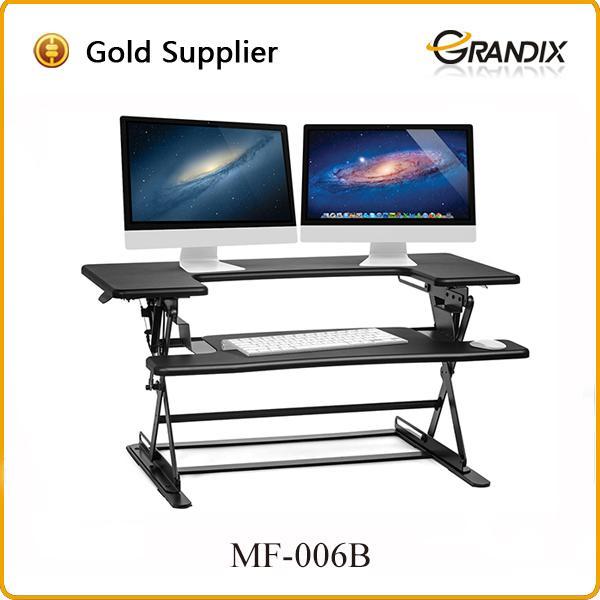 new design adjustable height convertible standing desk workstation
